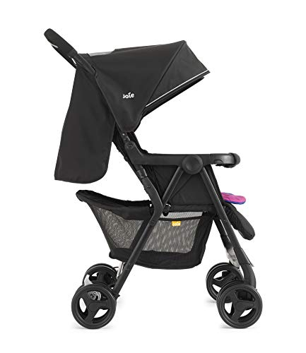 Joie Aire Twin Stroller - Pink/Blue Joie Weight 11.6kg. Max child weight 15kg. Age suitability: from birth to 3 years. 6