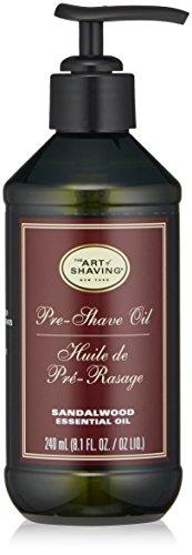 The Art of Shaving Pre Shave Oil, Sandalwood, 8.1 Fl Oz