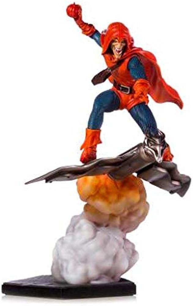Statuetta da collezione marvel comics, hobgoblin