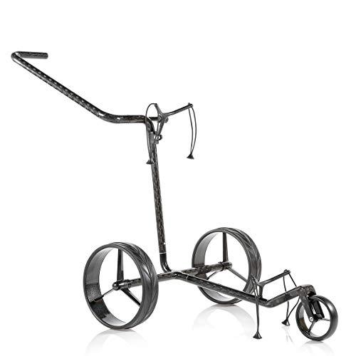 JuCad Carbon Golf Trolley 3-rädrig I Golf Caddy