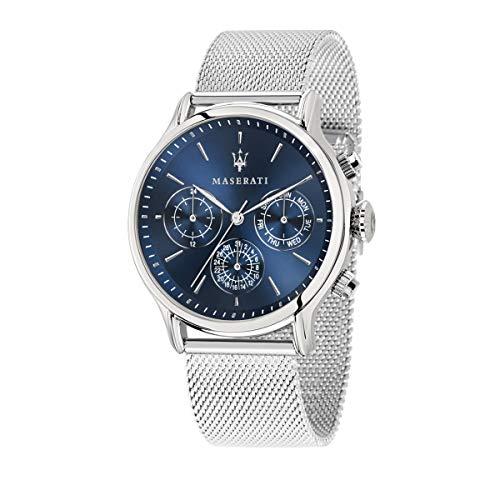 Reloj para Hombre, Colección Epoca, Movimiento de Cuarzo, multifunzione, en Acero - R8853118013