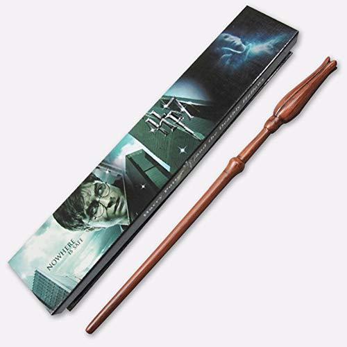 Harry-Potter-Zauberstab, 36 cm, für Cosplay, Halloween, Requisiten aus Harz, Geschenk (ohne Licht), Q