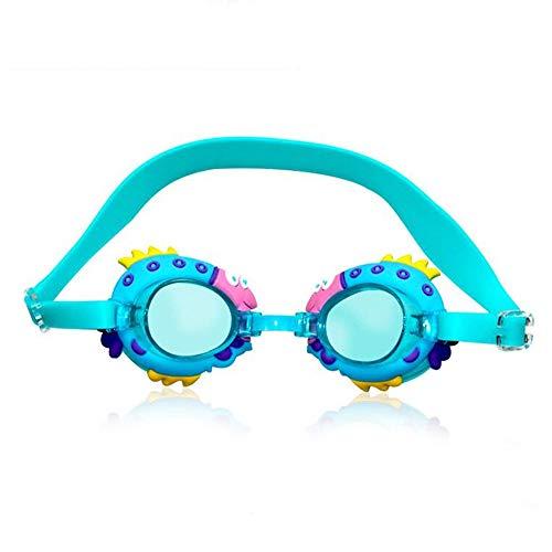 Sxuefang Gafas de Snorkel en Caja de Dibujos Animados Lindo, antivaho - HD - Adecuado para niños