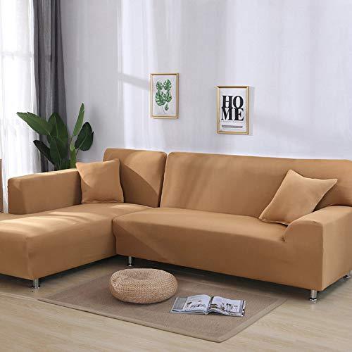 Jednolity kolor elastyczny elastan narzuty na sofę narzuta na sofę rozciągliwy ręcznik na sofę narożnik narzuty na salon, kolor 8,1, siedzisko 90,140cm 1PC
