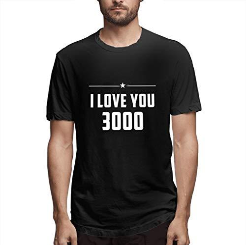 Xmiral TShirt con ScritteI Love You 3000