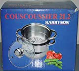 HARRYS'SON COUSCOUSSIER INOX Induction 2 litres
