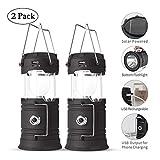 Best LED Lanterns - Lyricall Solar Camping Lantern Rechargeable USB,COB LED Lantern Review