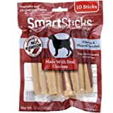 SmartBones SBC-00232 SmartSticks With Real Chicken 10 Count, Rawhide-Free Chews For Dogs