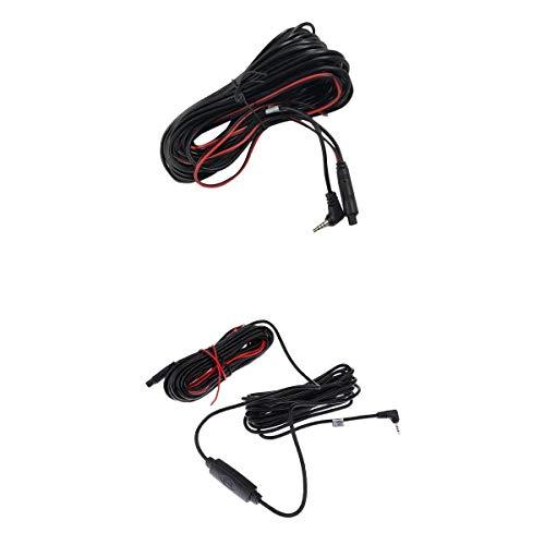 Shiwaki Auto Rückfahrkamera Anschlusskabel Kabel 2.5mm - 4 Pin 5 Pin Verlängerungskabel 10M