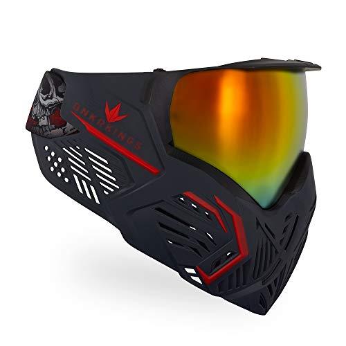Bunkerkings CMD Paintball Goggle/Mask - Black Demon