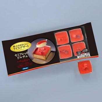 味の素(フレック) セミフレッド・ドルチェ ストロベリー 10個入(400g)(スイーツ アイスケーキ)(冷凍食品)