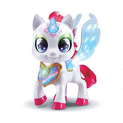 VTech Sparklings – Unicornio Stella – Juguete mágico Unicornio Luminoso – Versión FR