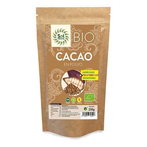 Cacao en polvo Raw Sol Natural 250 g