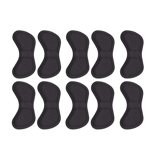 Liuxn 5 Pares de Plantillas de Zapatos Autoadhesivas, Almohadillas de cojín, Pegatinas para el Cuidado de los pies