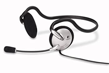 Logitech PC Headset 120  Behind-the-Neck  w/ Microphone Black 980447-0914