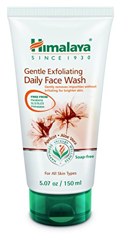 Himalaya Gentle Exfoliating Daily Face Wash, 5.07 Fluid Ounce