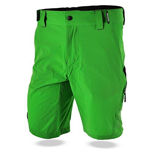 Silvini heren Elvo MTB korte broek met 2 kanten en 2 zakken met ritssluiting achter
