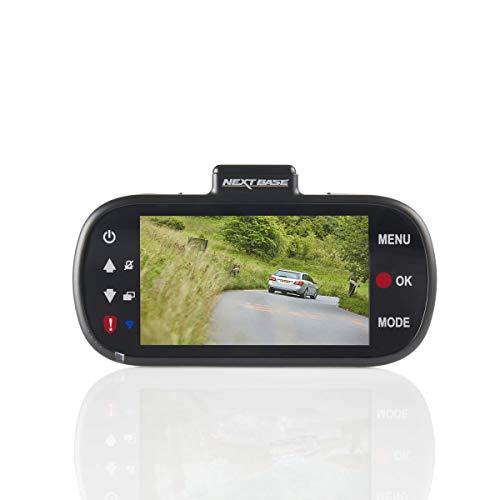Nextbase 512GW - Full 1440p HD In-Car Dash Camera DVR - 140° Viewing Angle – WiFi and GPS – Anti-Glare Polarising Filter - Black