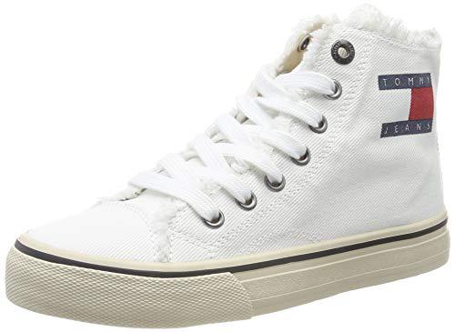 Tommy Hilfiger Herren Damen Sneaker Schuhe Turnschuhe weiß schwarz Größe 36-44