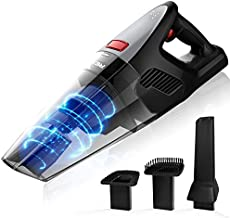 Rends Hand-Held Vacuum Cleaner, Portable Cordless Vacuum Cleaner with Powerful Suction of 8000PA, Dry Vacuum Cleaner with 2-3 Hours Fast Charging, Used for Pet Hair, Dust, Household, and Car Cleaning