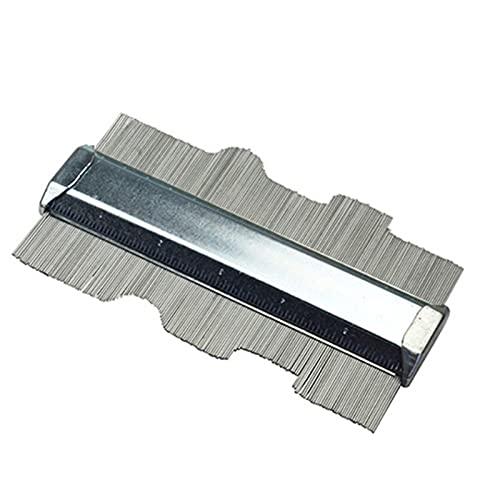 De múltiples fines Calibrador de contorno de contorno de metal de 6 pulgadas indicador de marcado de duplicador para la copia de la plantilla de decoración profunda para medir esquinas, (Color : B)