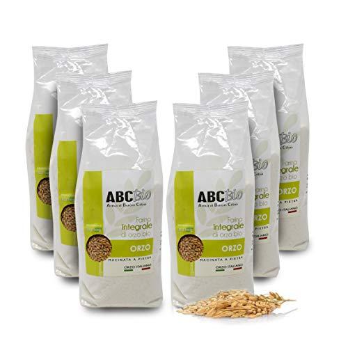 Carioni Food & Health Harina de Cebada Integral ecológica -
