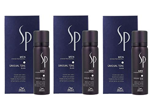 Wella SP Men Gradual Tone Negro Set 3 x (60ml + 30 ml)
