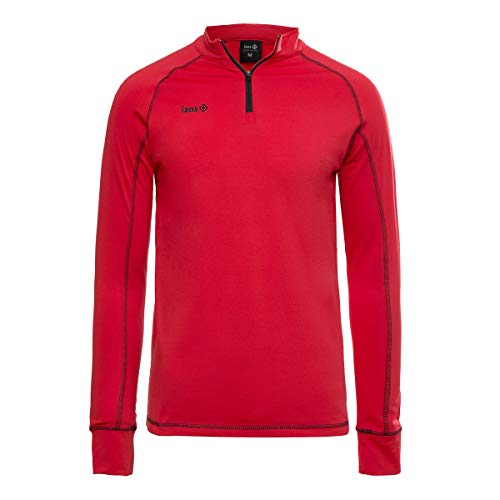 Izas IMEPS00780, Camiseta de manga larga para hombre, color Rojo (Red/Black), talla...