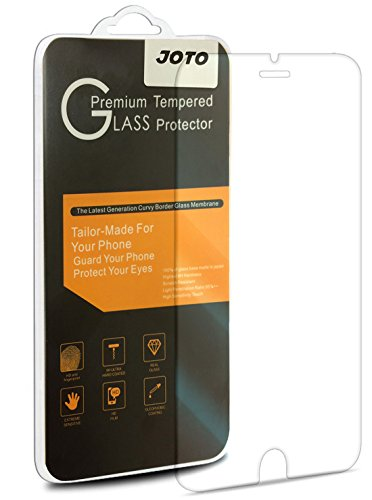 Apple iPhone 8, 7, 6S 6 Tempered Glass Screen Protector Film, JOTO Thin/Slim 0.3mm Tempered Glass Screen Protector Guard for 4.7 inch iPhone 8 / iPhone 7 / iPhone 6S / 6