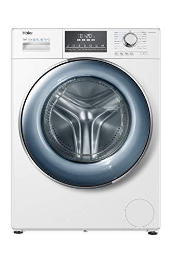 Haier HW120-B14876 Waschmaschine 12 kg A+++-40%, Dampfoption, freistehend