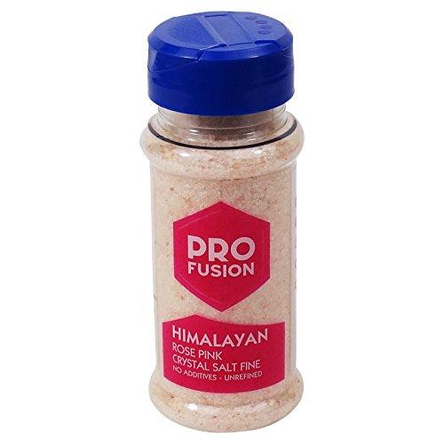 PROFUSION- Sale Rosa dell'Himalaya - Sale da cucina a basso contenuto di sodio - Confezione da 140 gr
