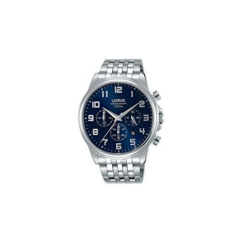Lorus Orologio Cronografo Quarzo Uomo con Cinturino in Acciaio Inox RT335GX9