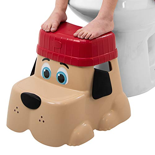 Squatty Potty Kids Pet Toilet Stool Kit Pup Base with Hat and Seat