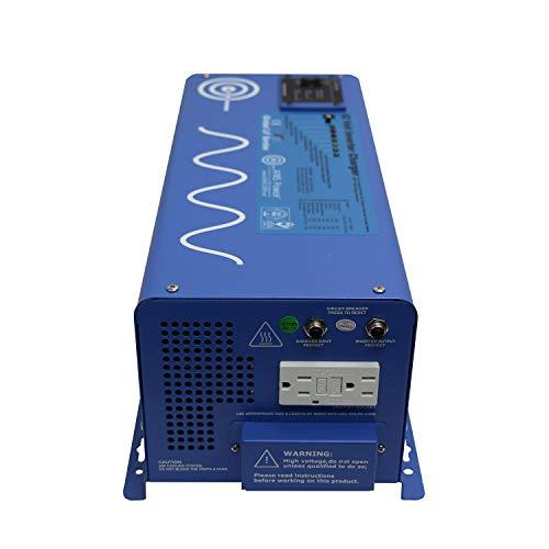 AIMS PICOGLF30W12V120VR 3000 Watt and 9000 Watt Surge 12VDC Input to 120VAC Output Pure Sine Inverter Charger Backup Power