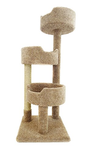 New Cat Condos Deluxe Kitty Pad, Brown