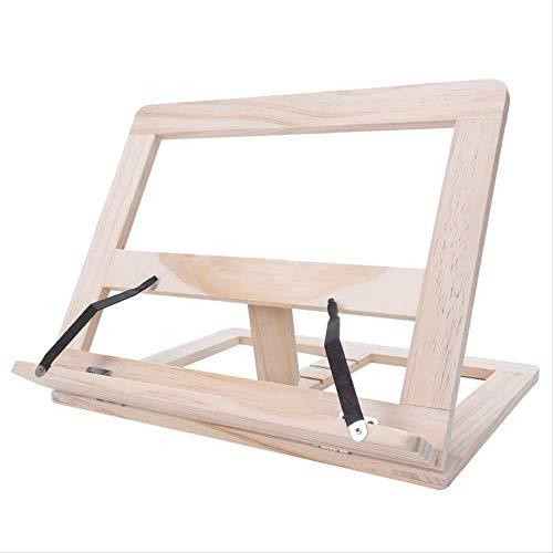 Boek Stand Houten Frame Lezen Boekenplank Beugel - Boek Lezen Beugel Tablet Pc Ondersteuning Muziekstandaard