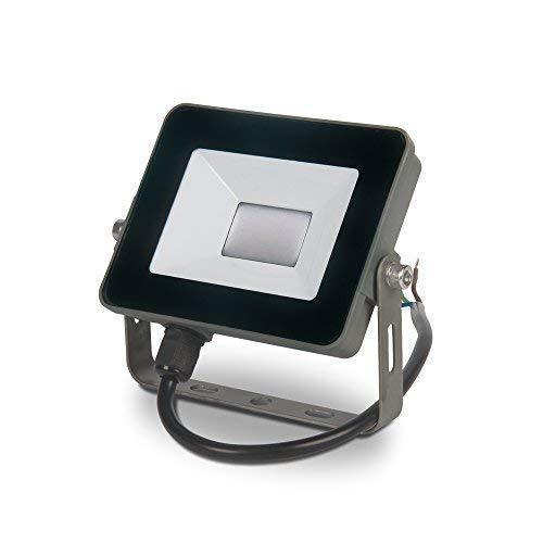 10W 20W 30W 50W Schlanker Projektor - warmweiß, 10 Watt