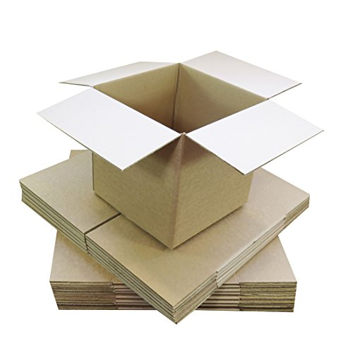 Triplast 101 x 101 x 101mm Small Single Wall 4x4x4' Shipping Mailing Postal Gift Cube Cardboard Boxes (Pack of 25)