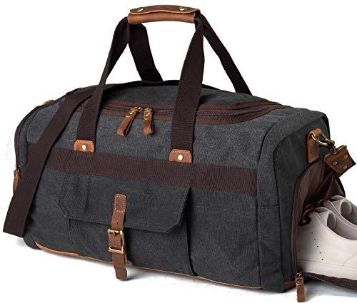 7. BLUBOON Weekender Overnight Duffel Bag