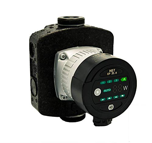 Hocheffiziente Heizungspumpe/Umwälzpumpe HST EP 25-80/180 mm mit Dichtungen u. Verschraubungen