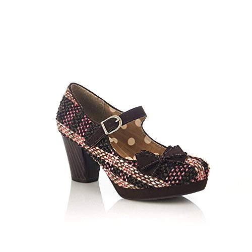Ruby Shoo Crystal Damen Schuhe Braun