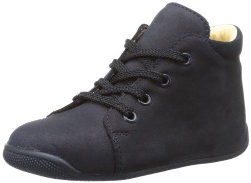 Däumling Unisex Baby Polly Sneaker, Blau (Nubuk ozean47), 20