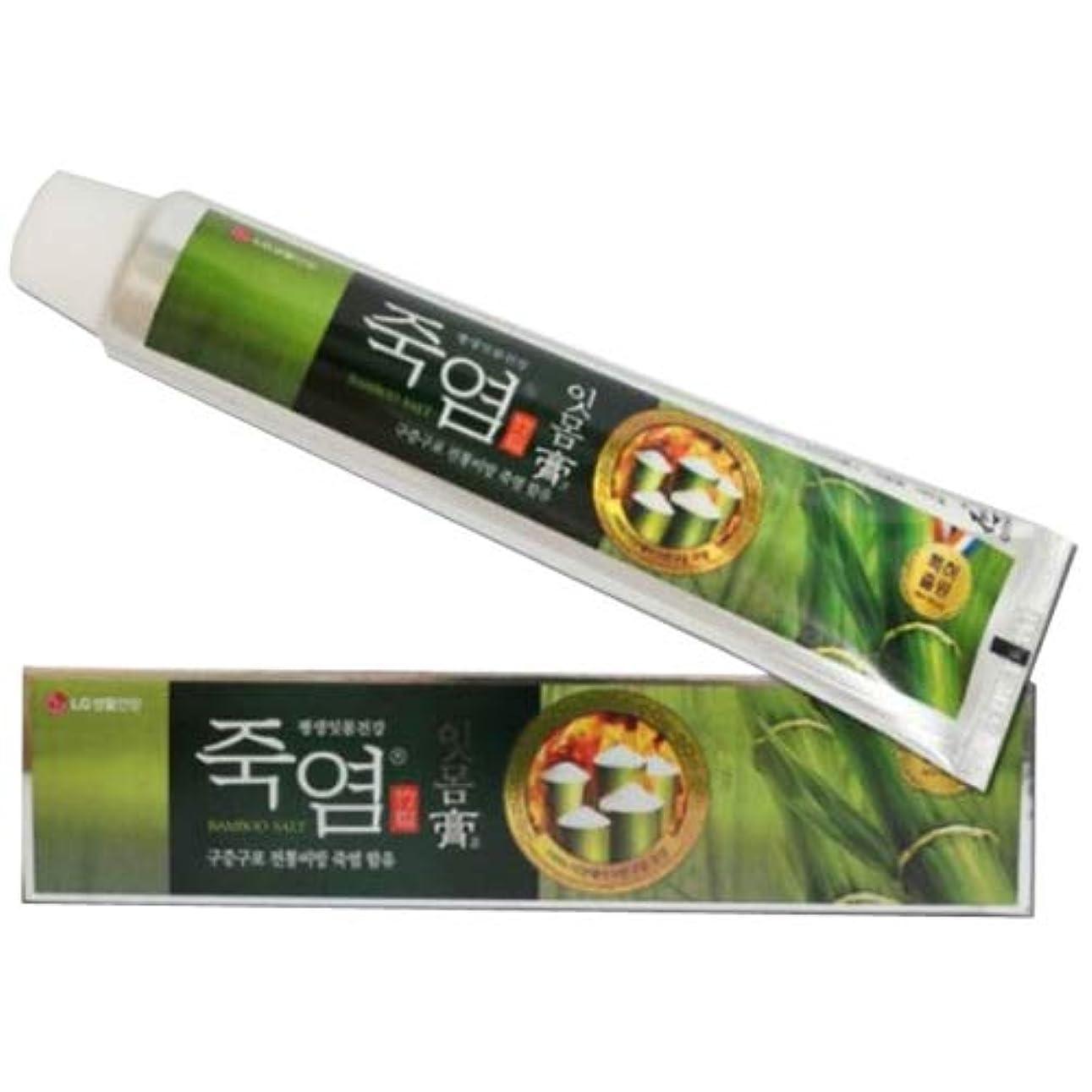 しかしながらボア堂々たるLG生活健康 竹塩歯磨き粉 (歯康膏:ウンガンゴ)(120gx3個) 歯肉炎の予防 歯茎の出血予防