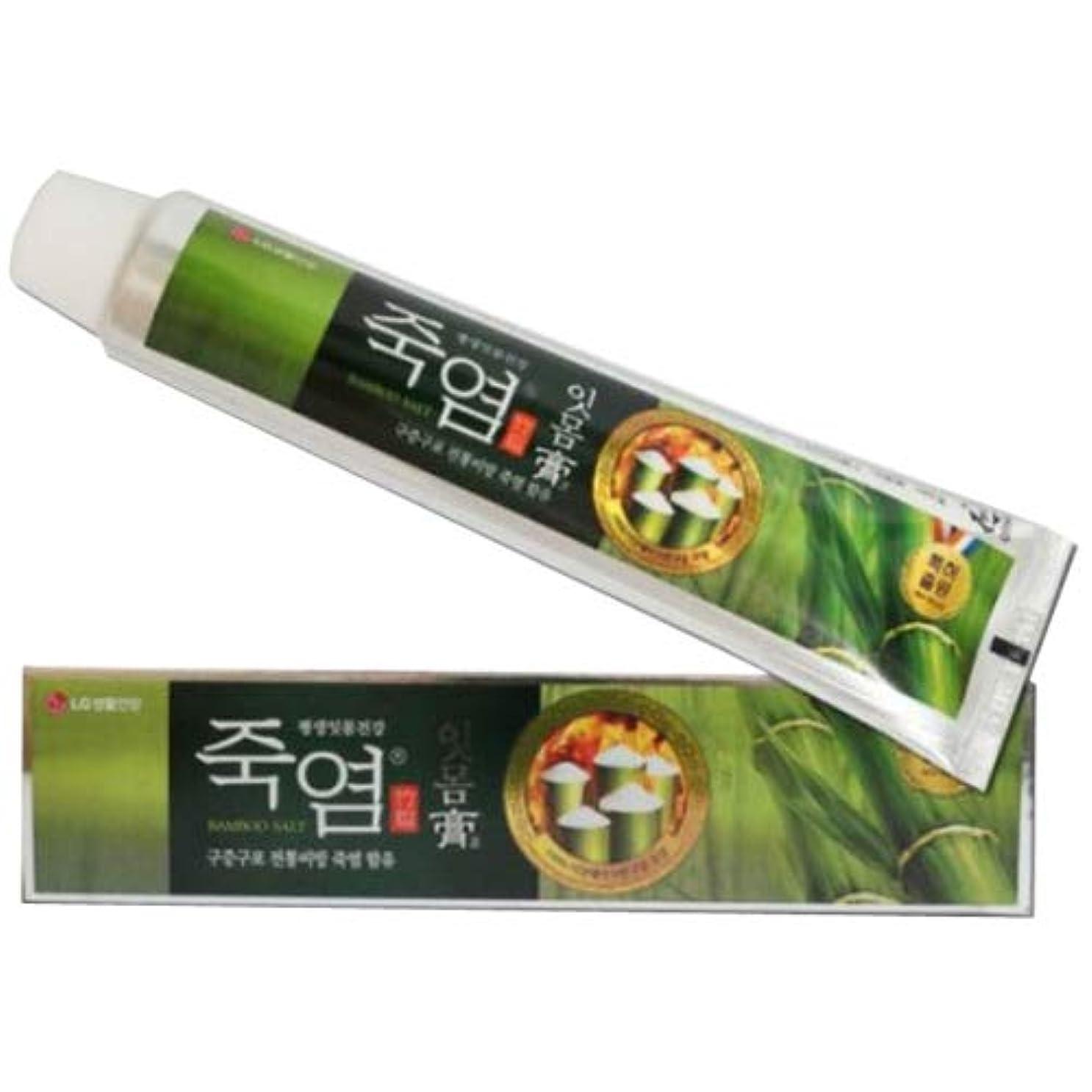 雨労苦であるLG生活健康 竹塩歯磨き粉 (歯康膏:ウンガンゴ)(120gx3個) 歯肉炎の予防 歯茎の出血予防