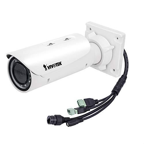 VIVOTEK IB9381-HT Bullet-Netwerkkamera (5 Megapixel Auflösung, WDR Pro, Smart IR, 4-9mm Objektiv, 45-84 Grad Blickwinkel)