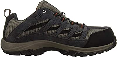 Columbia Men's Crestwood Waterproof Hiking Boot, Breathable, High-Traction Grip