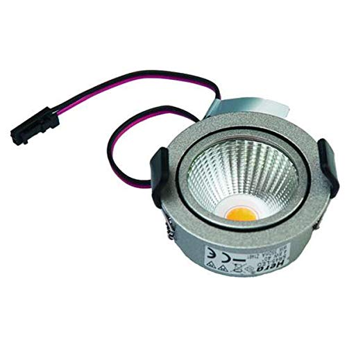 12V AC//DC Hera recessed Furniture luminaire G4 KB 12 20.00 W Silver Voltage Constant