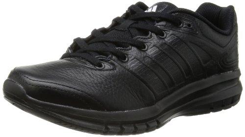 adidas Performance Duramo 6 Lea, Unisex-Erwachsene Laufschuhe, Schwarz (Black 1/Black 1/Black 1), 38 EU (5 Erwachsene UK)