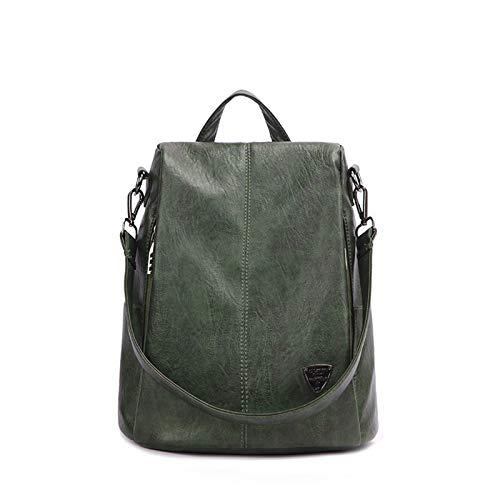 BAFEYU Women Backpack Elegant Rucksack Fashion Leather Waterproof Anti-theft Backpacks for Ladies College Girls