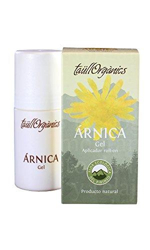 Taull Organics - Gel de Árnica Eco 50ml | Roll on de Arnica Montana | Antinflamatorio Natural | para Dolor Muscular, Espalda, Cuello y piernas cansadas| Ecológico